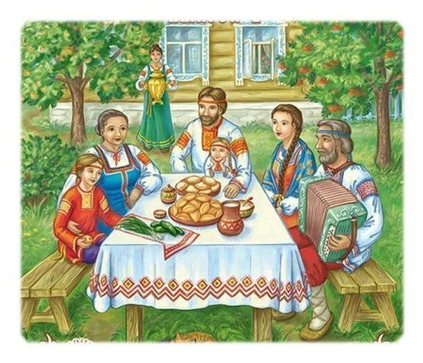 Семейный праздник в храме святых апостолов Петра и Павла в Знаменке